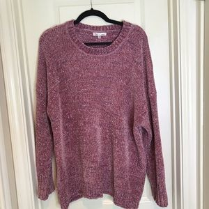NWOT Love More Super Soft Pink Sweater